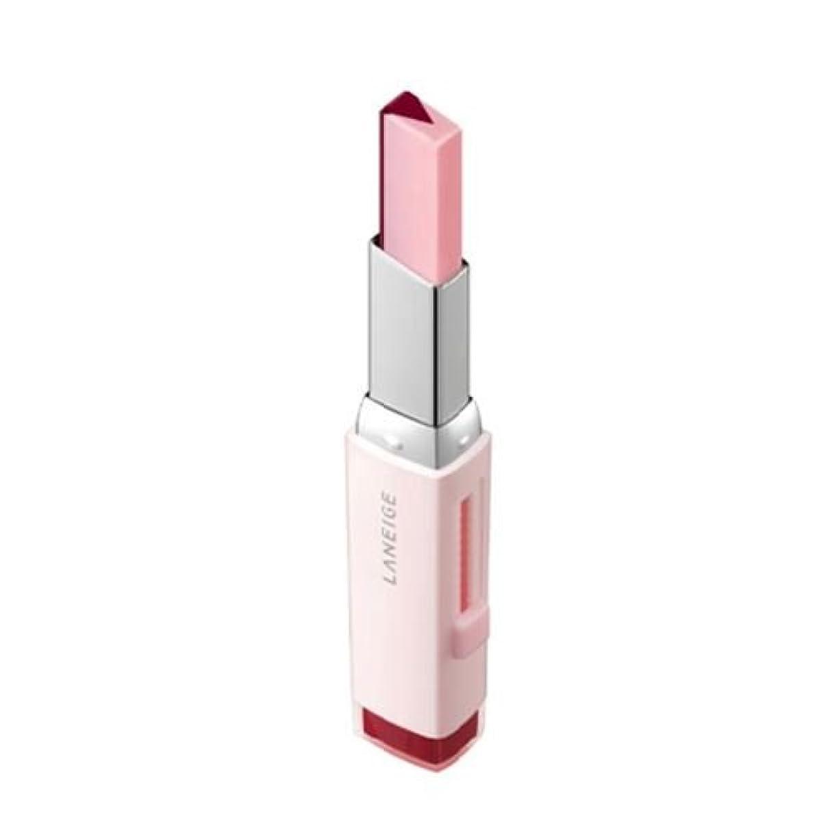 廃棄追放虚栄心[New] LANEIGE Two Tone Tint Lip Bar 2g/ラネージュ ツー トーン ティント リップ バー 2g (#08 Cherry Milk) [並行輸入品]