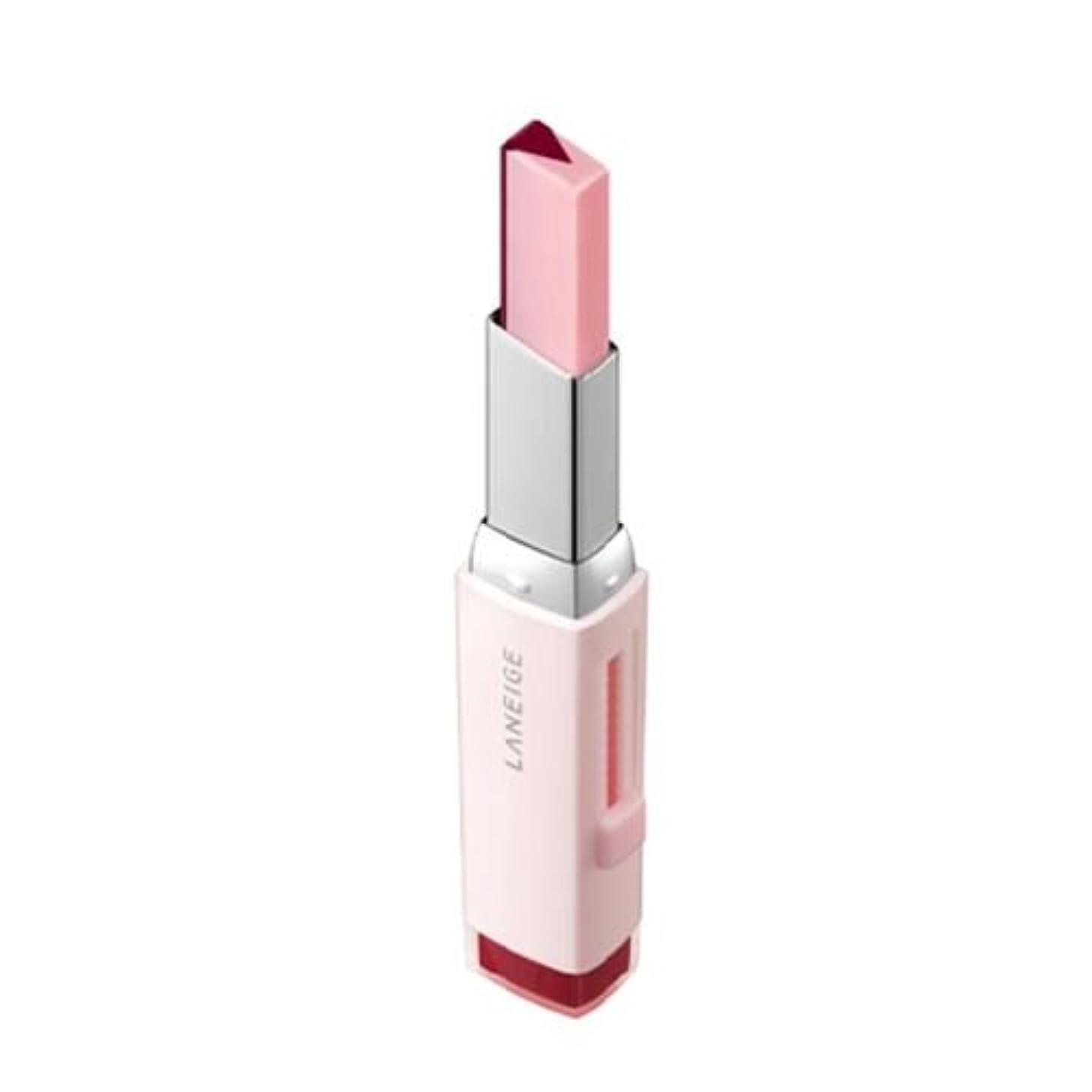 お客様虫船外[New] LANEIGE Two Tone Tint Lip Bar 2g/ラネージュ ツー トーン ティント リップ バー 2g (#08 Cherry Milk) [並行輸入品]
