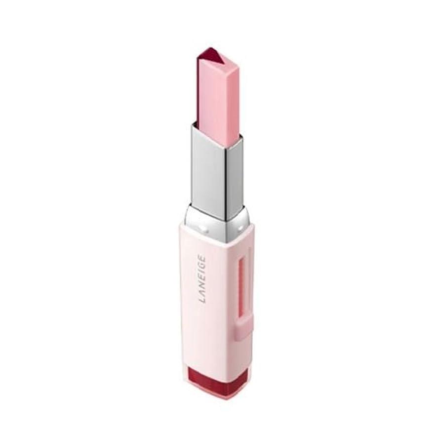 アッパーイデオロギーストレージ[New] LANEIGE Two Tone Tint Lip Bar 2g/ラネージュ ツー トーン ティント リップ バー 2g (#08 Cherry Milk) [並行輸入品]