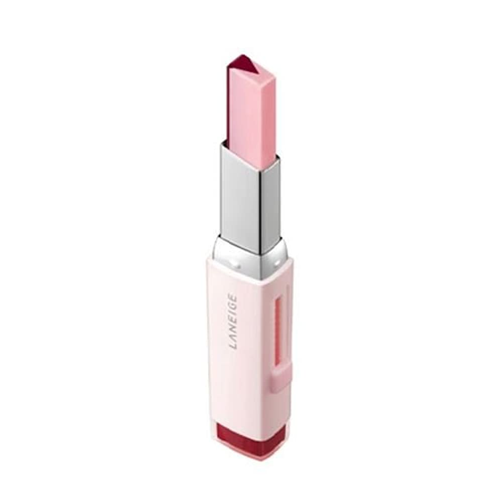 口ひげマイコン水没[New] LANEIGE Two Tone Tint Lip Bar 2g/ラネージュ ツー トーン ティント リップ バー 2g (#08 Cherry Milk) [並行輸入品]