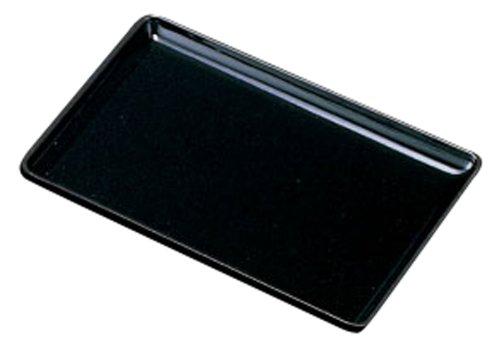 中西工芸 PC切手盆 黒 21cm 0002099