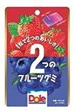 不二家 ドール2つのフルーツグミ ストロベリー&ブルーベリー 1箱(10入)