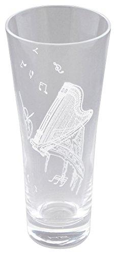 アコースティッククリンカー ミニグラス ハープ&ピアノ 11P101
