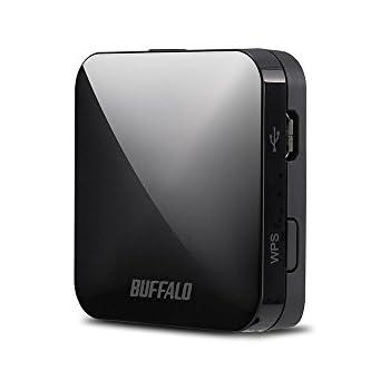 BUFFALO バッファロー 11ac/n/a/g/b 無線LAN親機(Wi-Fiルーター) ホテル用 433/150Mbps ブラック 【Nintendo Switch動作確認済】 WMR-433W-BK