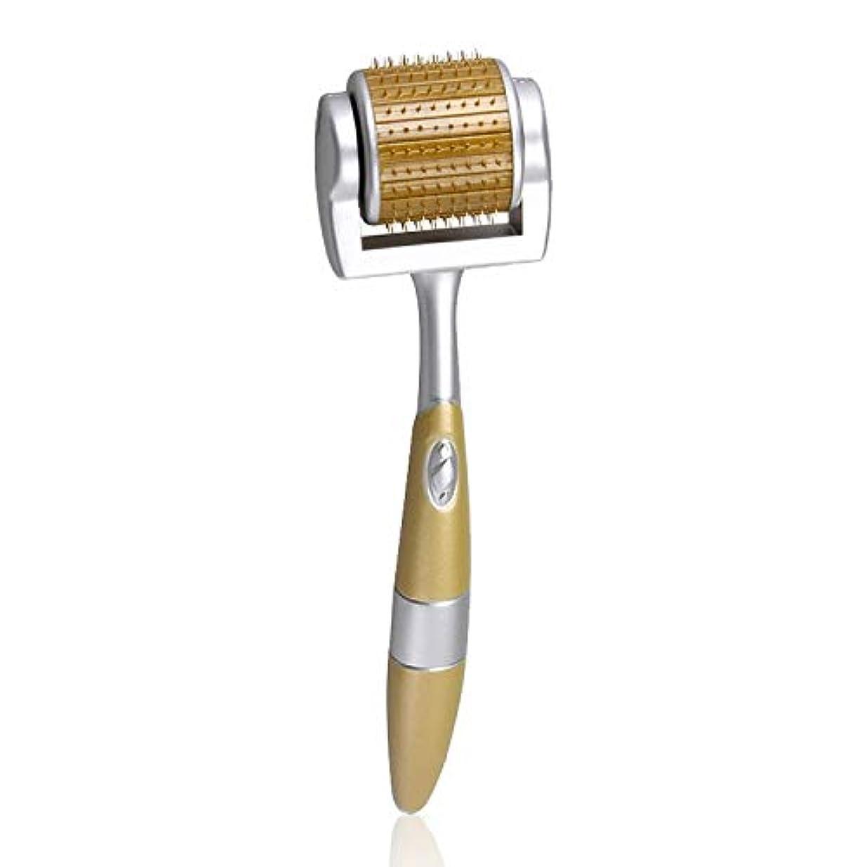 着替える背が高いマスクYNCL スキンケア洗顔ツール - 2 PCSチタン合金マイクロニードルひげ修理ナノローラー機器 - 化粧品ニードリングインストゥルメント、仕様:0.5MM