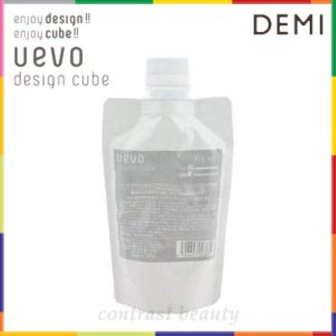 【X3個セット】 デミ ウェーボ デザインキューブ ドライワックス 200g 業務用 dry wax DEMI uevo design cube