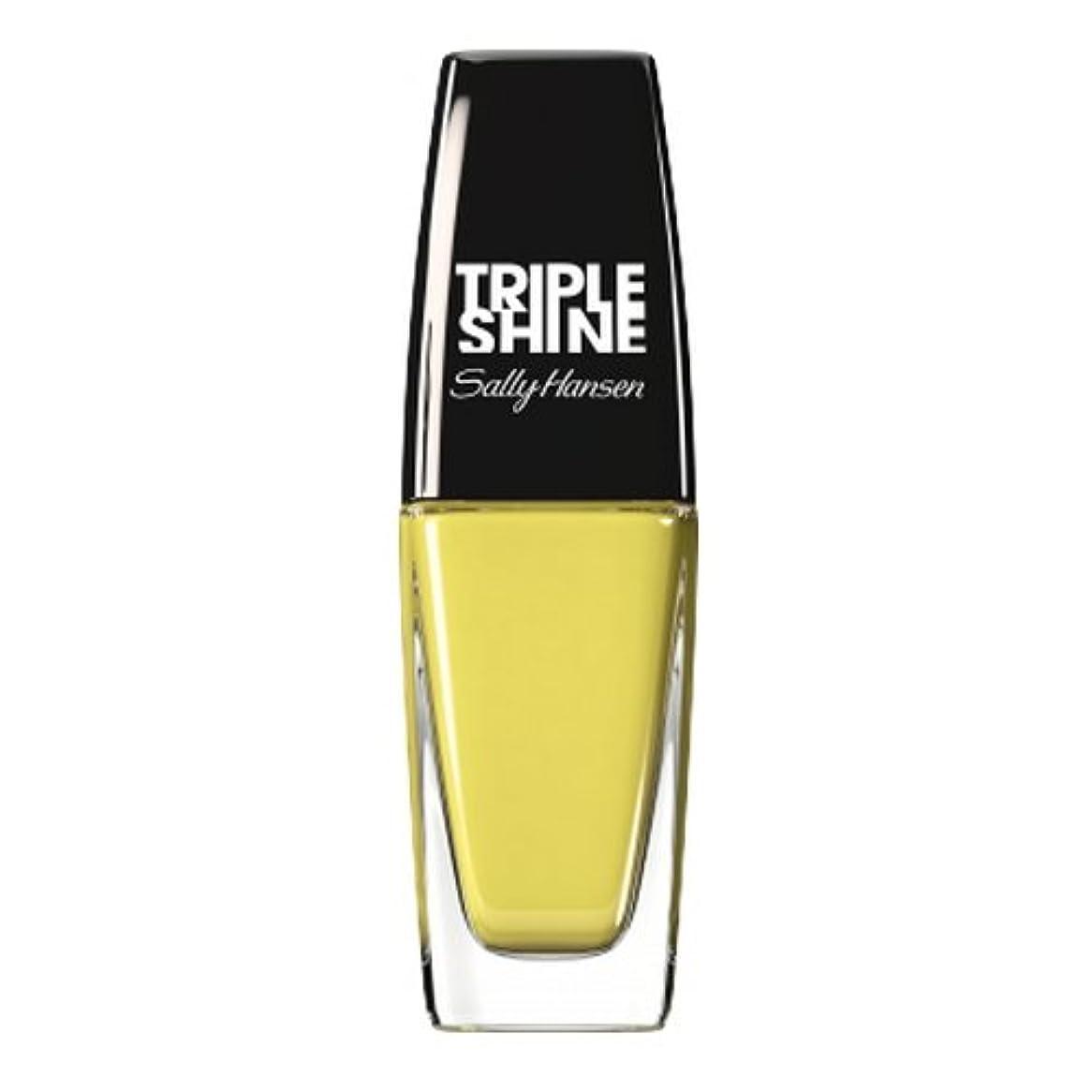 イタリアのコンパニオン教育(3 Pack) SALLY HANSEN Triple Shine Nail Polish - Statemint (並行輸入品)