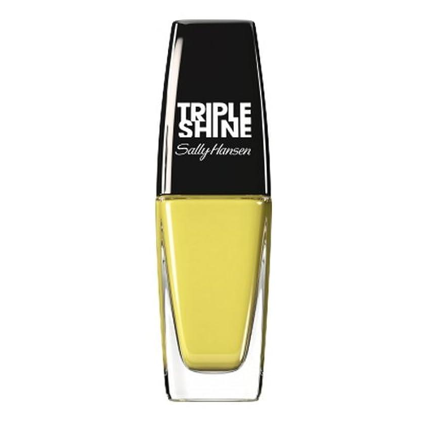 中断物質知り合いになる(3 Pack) SALLY HANSEN Triple Shine Nail Polish - Statemint (並行輸入品)