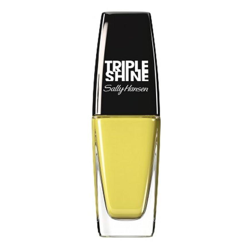 最初はゲージダメージ(3 Pack) SALLY HANSEN Triple Shine Nail Polish - Statemint (並行輸入品)