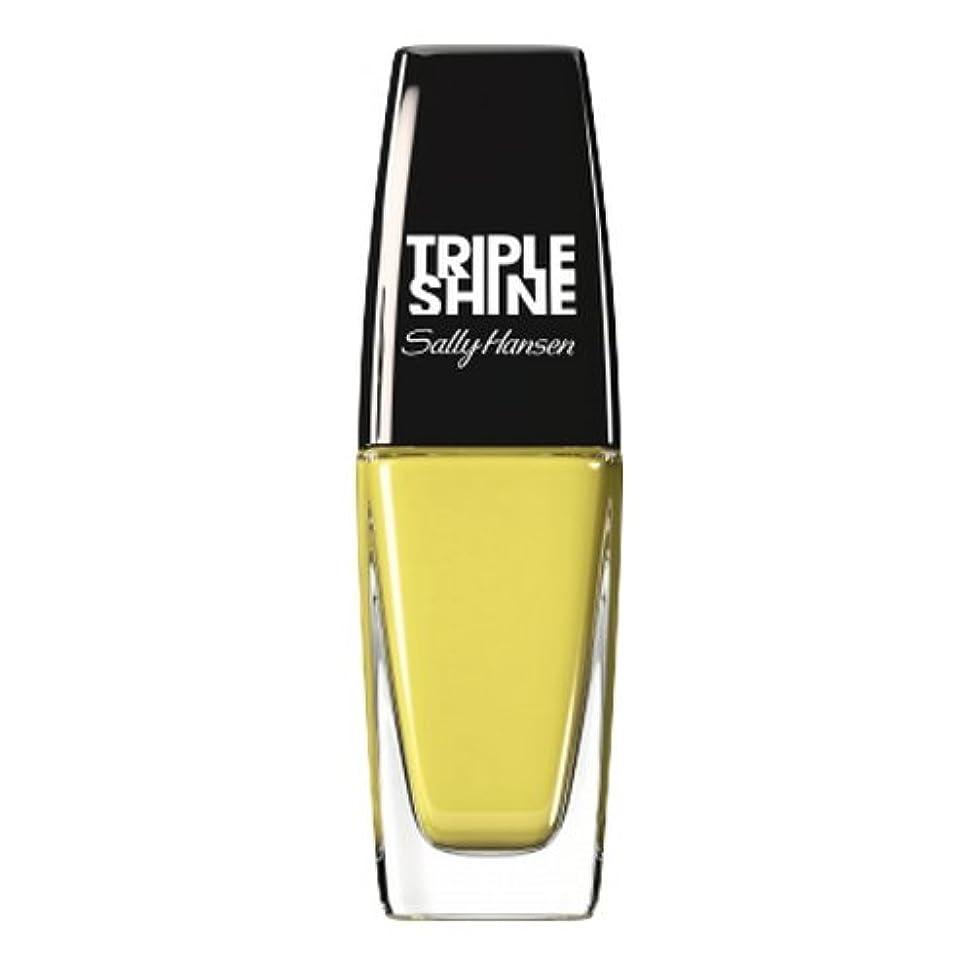 公水星レーザ(3 Pack) SALLY HANSEN Triple Shine Nail Polish - Statemint (並行輸入品)