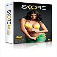 Skore Banana 10 Pieces Condom Multiple Pack (10s X 6 Pack) (Ship from India)