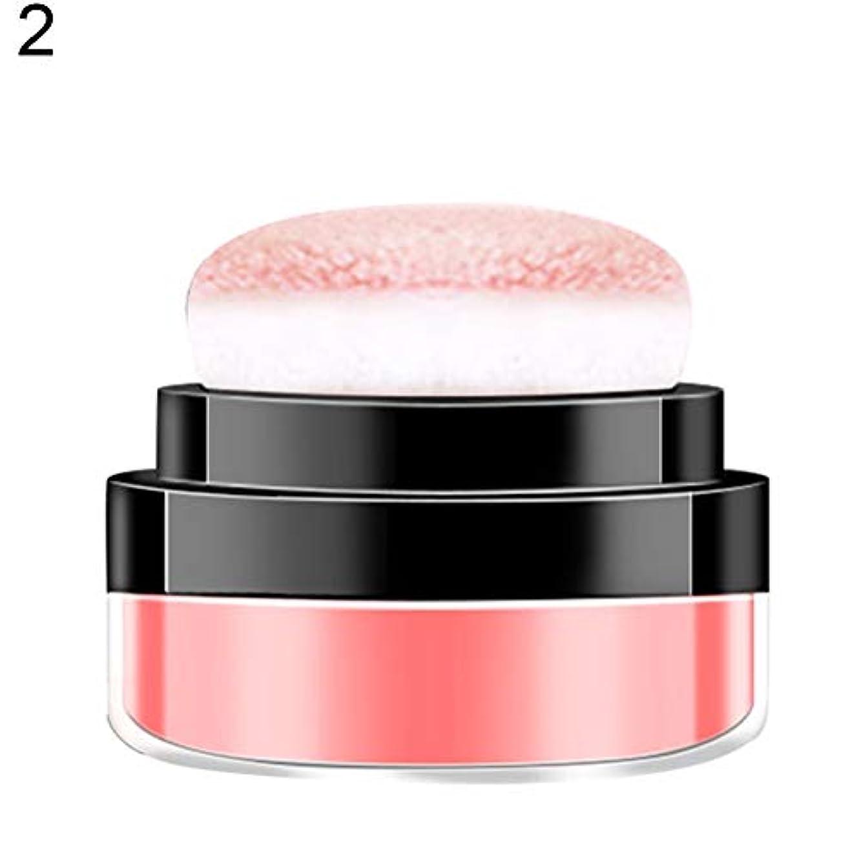 紫の隔離するバンドルダイドーラ8.8gマッシュルームエアクッションブラッシャーフェイシャルナチュラルブライトニング化粧品 - 2