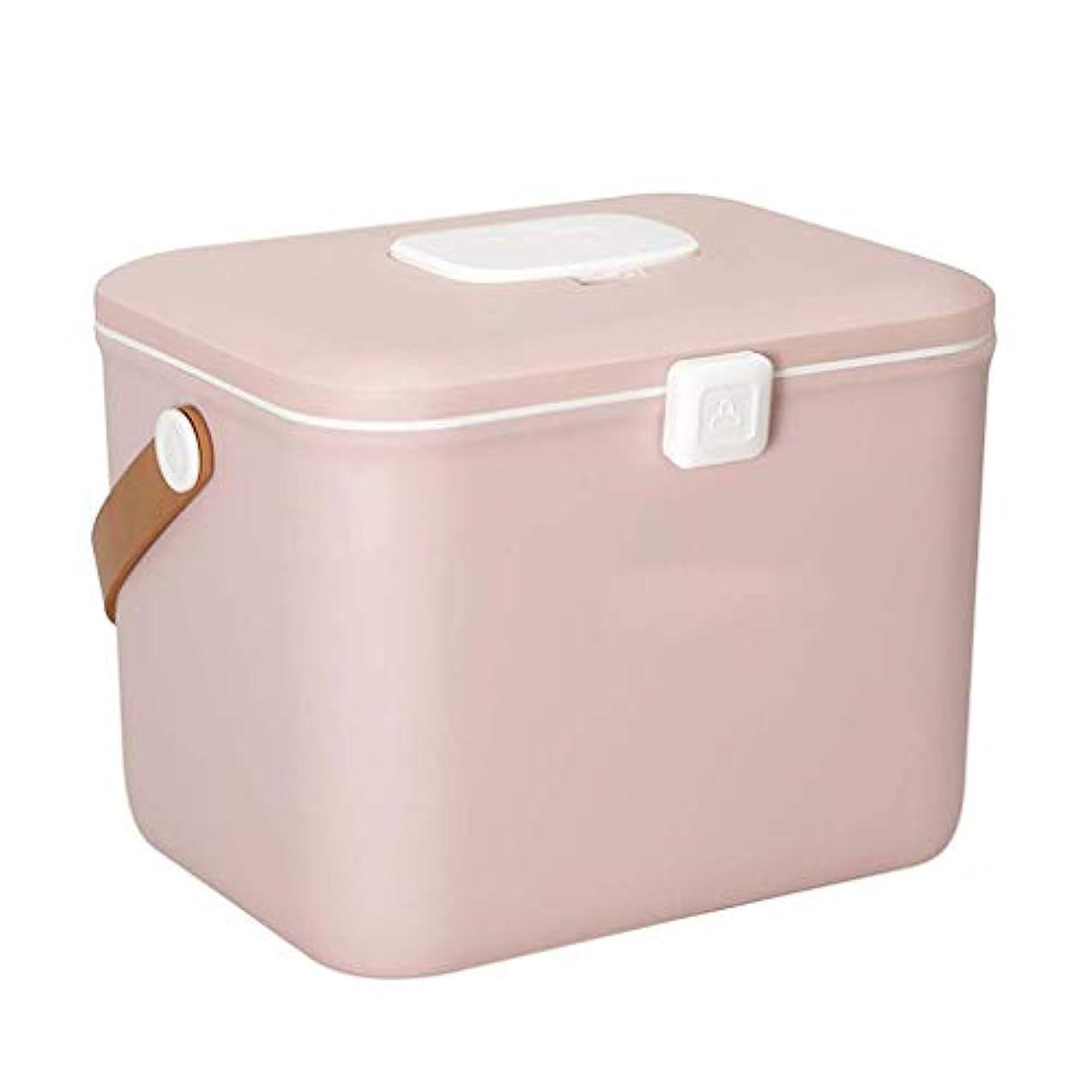 広告主広告する試してみるHEMFV 応急処置キットPPプラスチックケース付き救急箱、緊急キット収納オーガナイザー用の取り外し可能なトレイ付き医療箱 (Color : Pink)