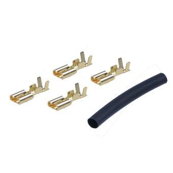 [해외]평형 모터 커넥터 (골드) 튜브 부착 이글 3681/Flat type motor connector (gold) Eagle with tube 3681