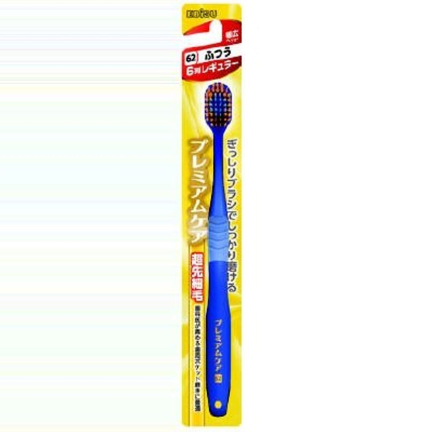 溝意味のあるフラフープ【まとめ買い】プレミアムケアハブラシ ふつう ×2セット