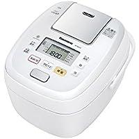 パナソニック 5.5合 炊飯器 圧力IH式 おどり炊き ホワイト SR-PB107-W