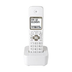 パイオニア Pioneer TF-EK35 デジタルコードレス増設子機 ホワイト TF-EK35-W 【国内正規品】