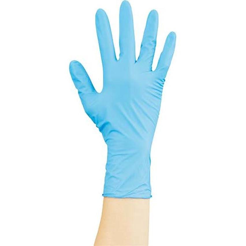 不均一大胆寮川西工業 ニトリル手袋ストロング粉無 青M 100枚×20