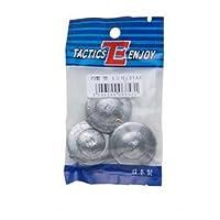 【TACTICSENJOY/タクティクスエンジョイ】TEパックおもり 円盤 25号 069172 おもり 仕掛けパーツ 釣りアイテム
