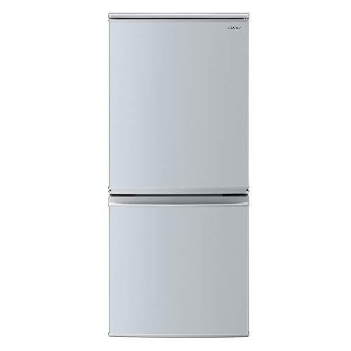 冷蔵庫(幅48.0cm) 137L つけかえどっちもドア 2ドア シルバー系 シャープ(SHARP) SHARP(シャープ) SJ-D14E-S