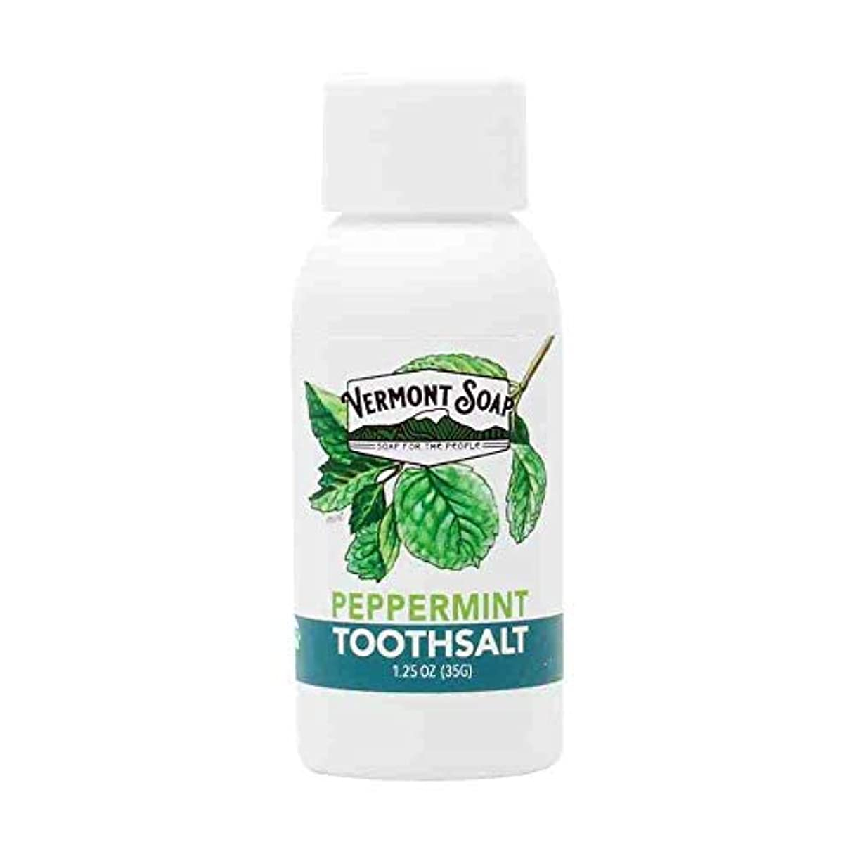 監督する実り多い無視できるバーモントソープ 塩 歯みがき 35g