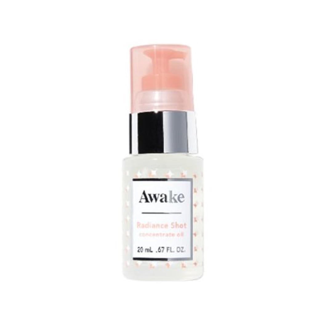 レール経験者ブームアウェイク(AWAKE) Awake(アウェイク) ラディアンスショット コンセントレイトオイル 〈美容オイル〉 (20mL)