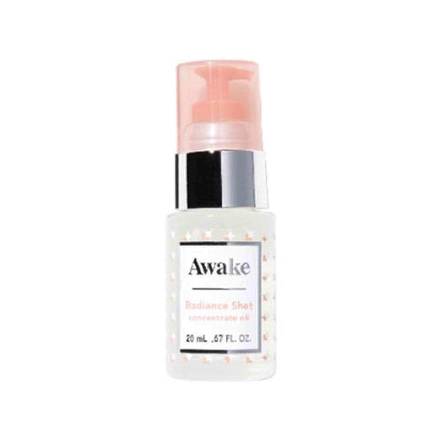 敬意を表する寛解消毒剤アウェイク(AWAKE) Awake(アウェイク) ラディアンスショット コンセントレイトオイル 〈美容オイル〉 (20mL)