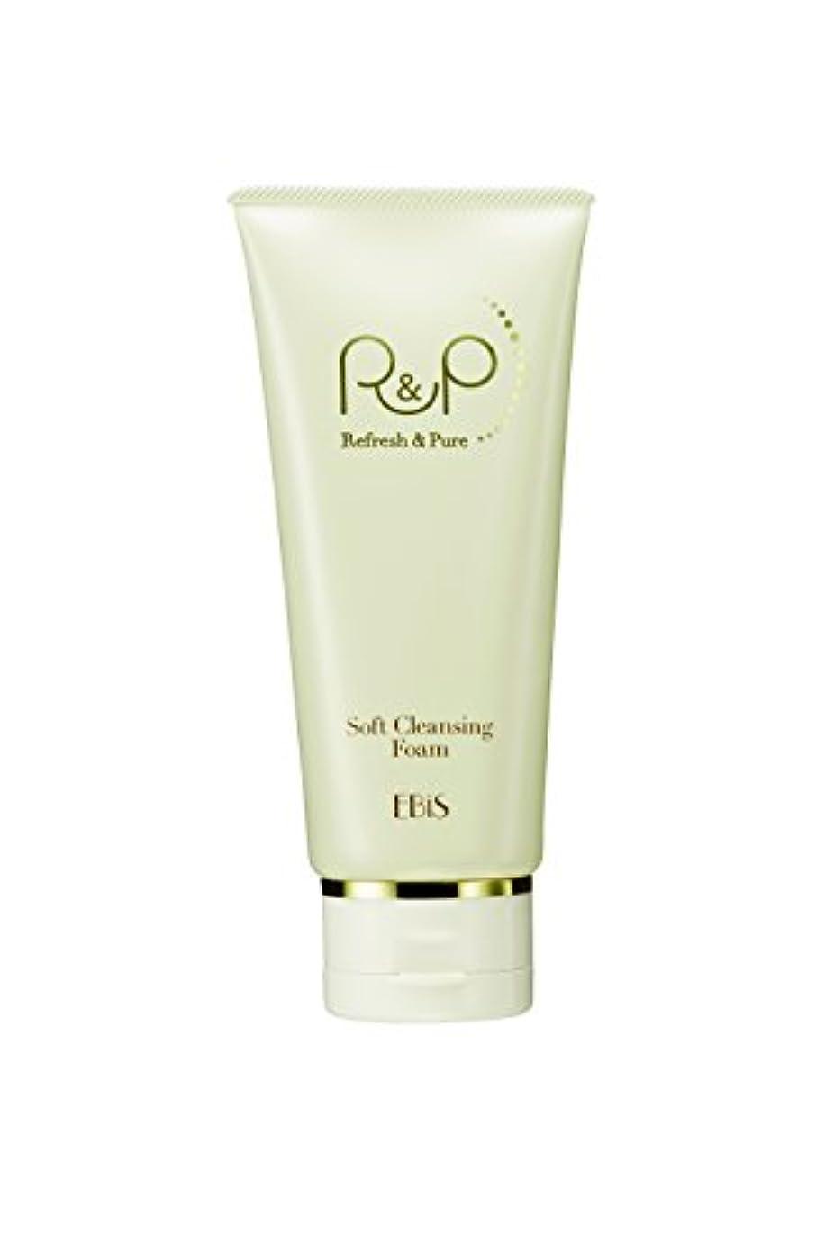打撃元気なインスタンスエビス化粧品(EBiS) R&Pソフトクレンジングフォーム100g 泥洗顔 洗顔フォーム 高級クレイ使用 ノンアルコール