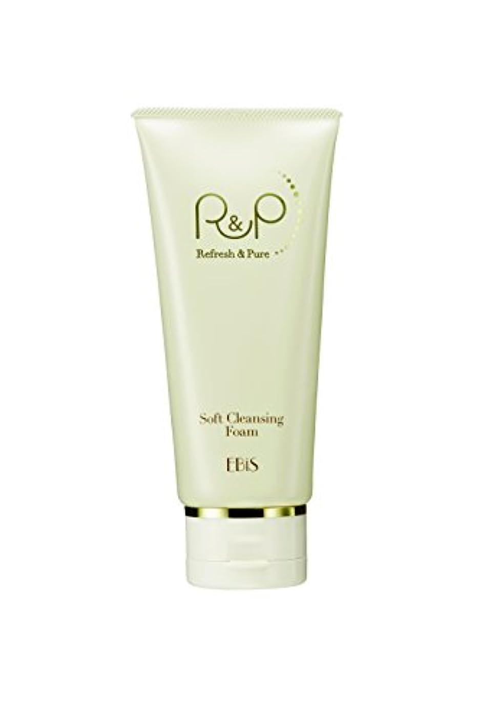 マウンド若い半導体エビス化粧品(EBiS) R&Pソフトクレンジングフォーム100g 泥洗顔 洗顔フォーム 高級クレイ使用 ノンアルコール