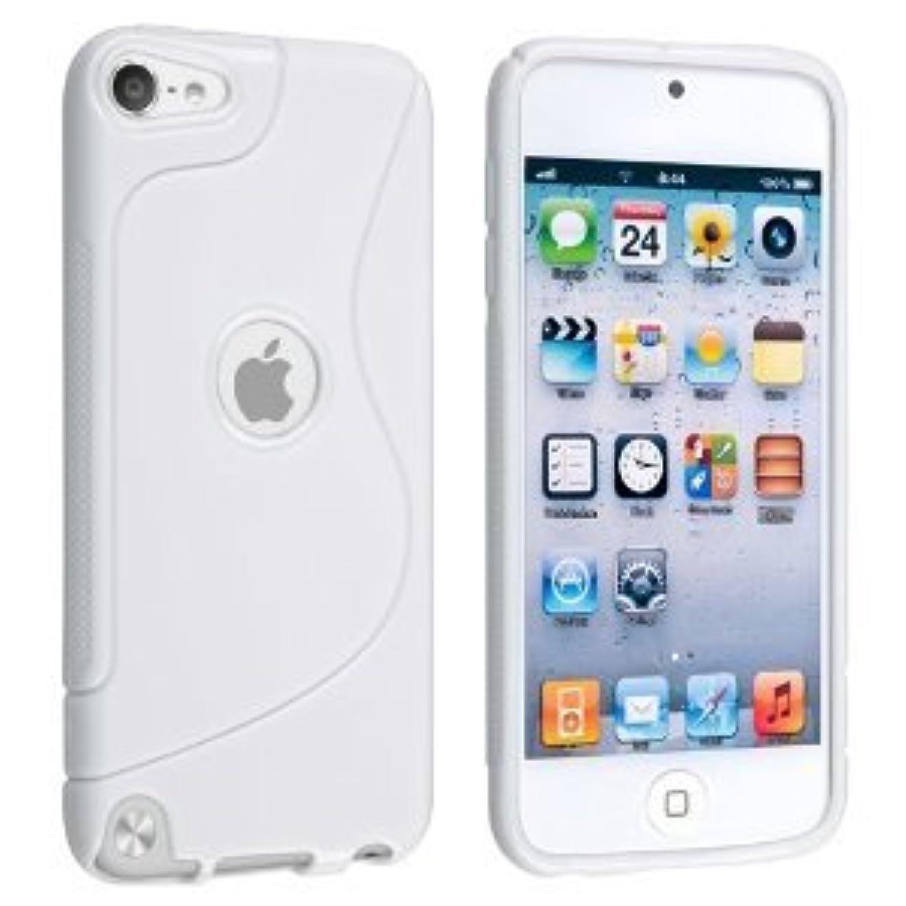残るペグ検体アウトレット】MY WAY iPod touch 5 アウトドアスタイルケース (アイポッドタッチ 2012年 第5世代 iPod 5th 対応) + 液晶保護フィルム1枚 【Mad White(白)】