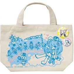 Happyくじ 「初音ミク 2013 SUMMER VER」 G賞 トートバッグセット (缶バッチ2個付き) 【TypeA】 サニーサイドアップ