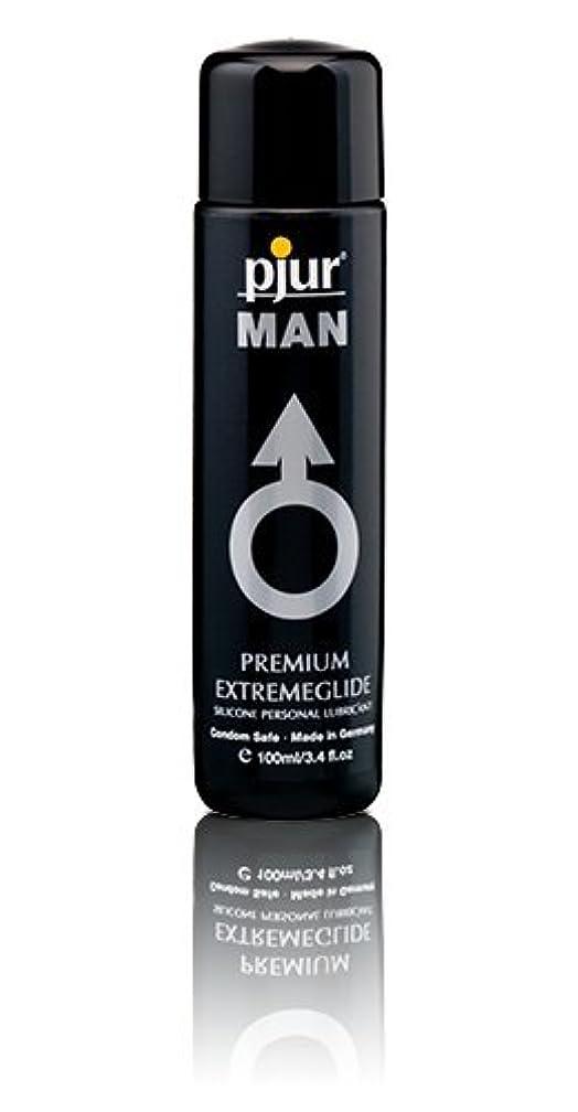 ワーカーヒステリック人に関する限りPjur Man Extremeglide Flasche Lubricant - 100ml
