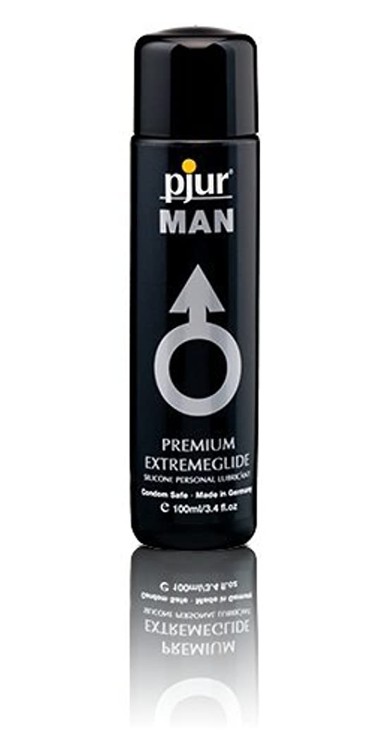 視線絵是正するPjur Man Extremeglide Flasche Lubricant - 100ml