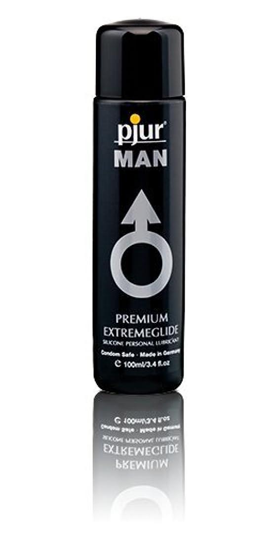 フレキシブルぞっとするような寝室を掃除するPjur Man Extremeglide Flasche Lubricant - 100ml
