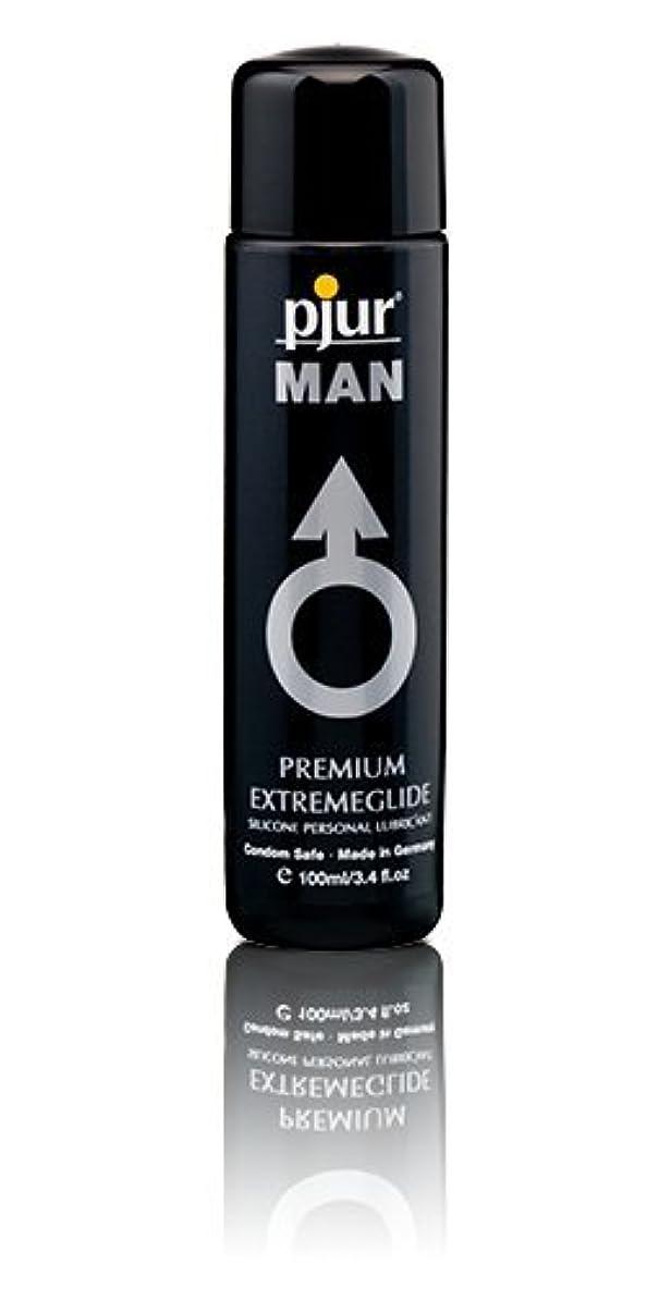 ラフ睡眠ポータブル怠感Pjur Man Extremeglide Flasche Lubricant - 100ml