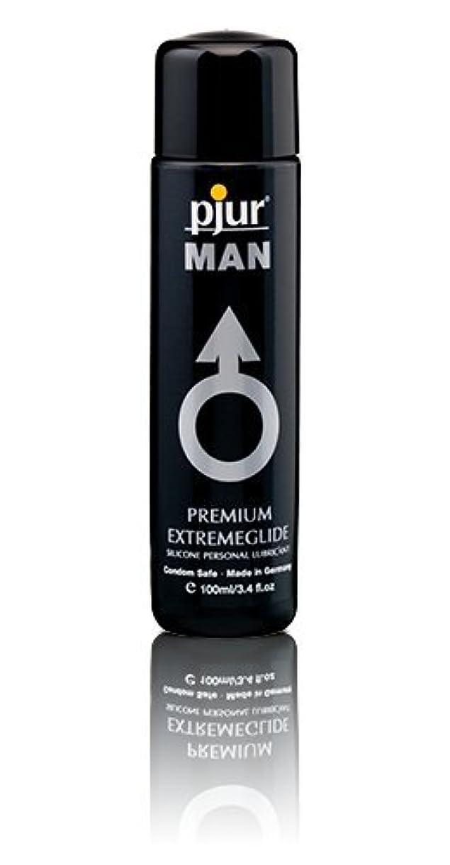 巻き取り社員引くPjur Man Extremeglide Flasche Lubricant - 100ml