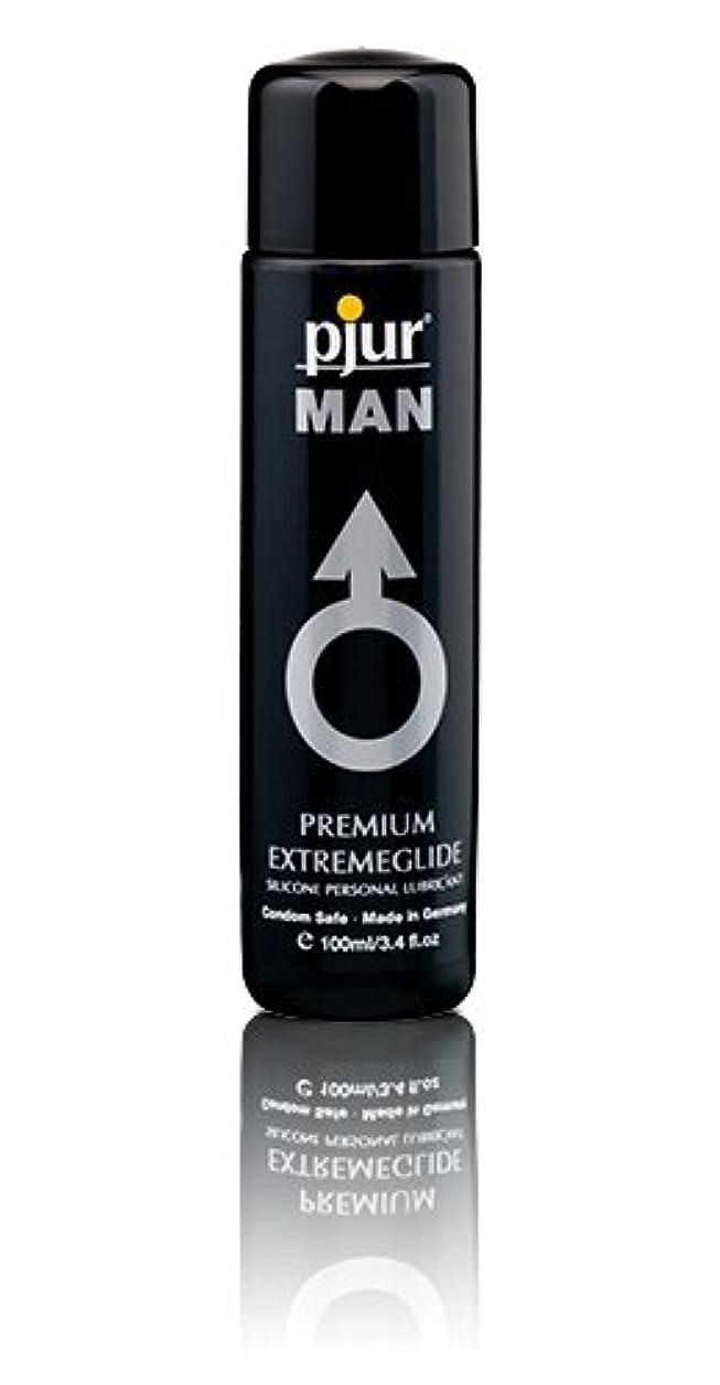 鉱夫そんなに流行Pjur Man Extremeglide Flasche Lubricant - 100ml
