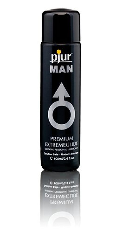 笑い正直百年Pjur Man Extremeglide Flasche Lubricant - 100ml