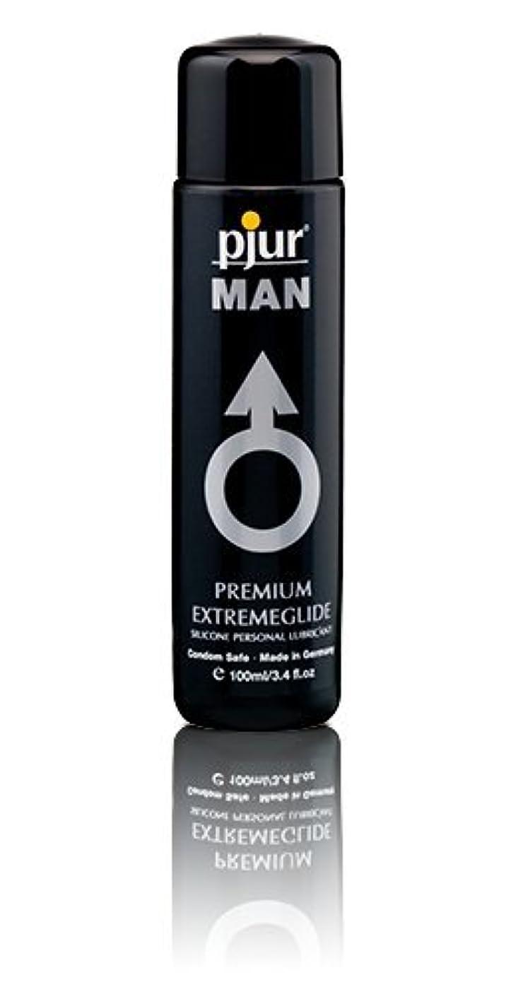 慈悲タイプライターチェスをするPjur Man Extremeglide Flasche Lubricant - 100ml