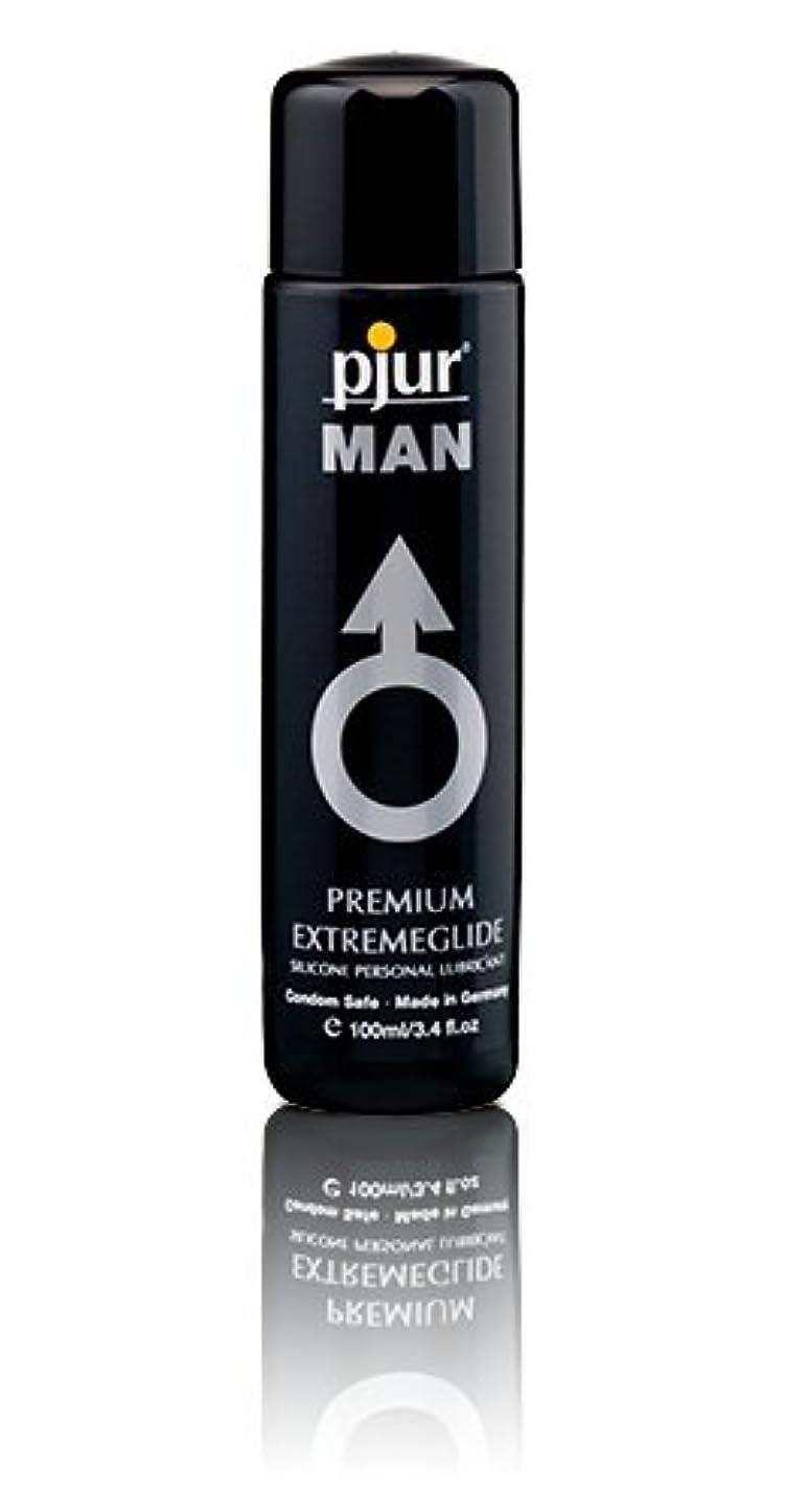 ライター幸運なことにパースブラックボロウPjur Man Extremeglide Flasche Lubricant - 100ml