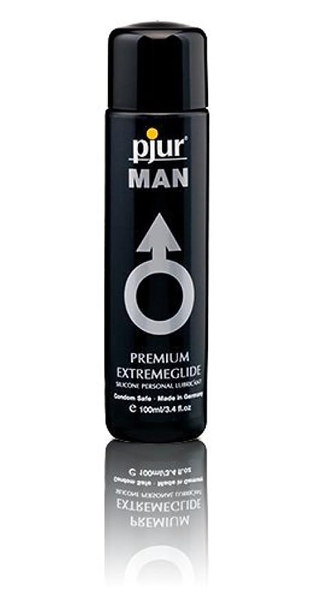眉をひそめる鉄道純度Pjur Man Extremeglide Flasche Lubricant - 100ml