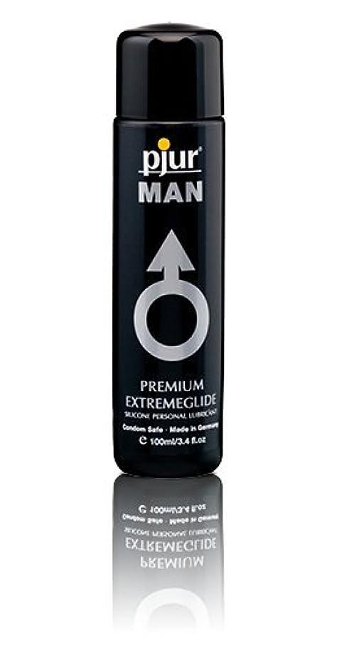 闇起こりやすいあるPjur Man Extremeglide Flasche Lubricant - 100ml