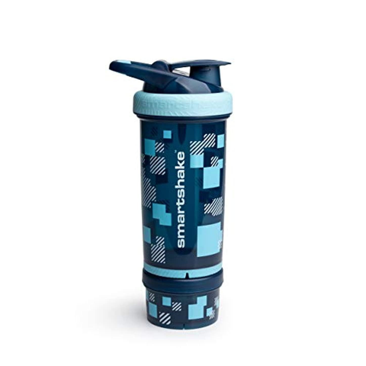 半島一月カウボーイSmartShake Revive 25oz/ 750m Pixel Blue(???????? ?????? ?????????)