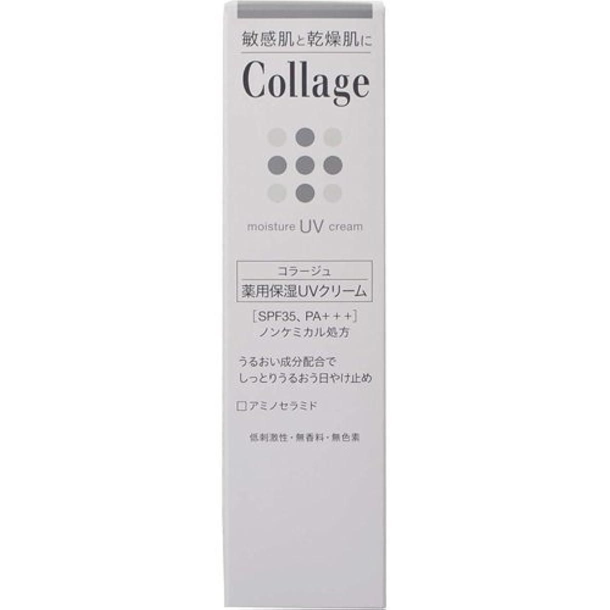 ハブブ木曜日屋内コラージュ 薬用保湿UVクリーム 30g ×6個