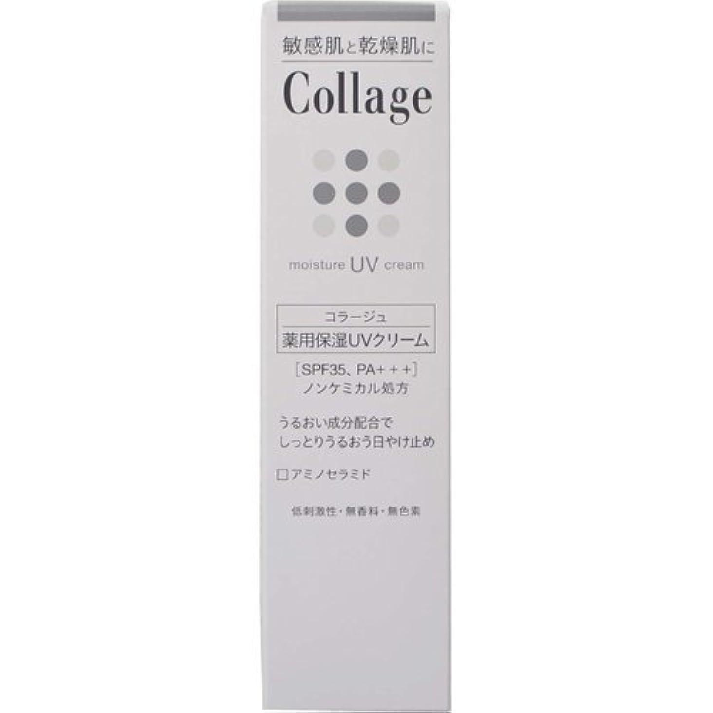 出版添加剤いつかコラージュ 薬用保湿UVクリーム 30g ×6個