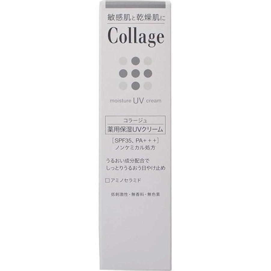 事前厄介な一見コラージュ 薬用保湿UVクリーム 30g ×6個
