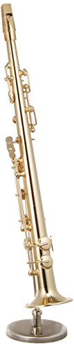 [해외]SUNRISE SOUND HOUSE 선 라이즈 사운드 하우스 미니어처 악기 소프라노 색소폰 골드/SUNRISE SOUND HOUSE Sunrise sound house miniature musical instrument soprano sax gold