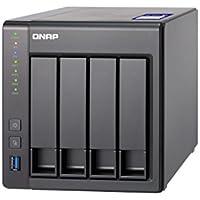 QNAP(キューナップ) TS-431X2 内蔵10GbE SFP+ポート付き高パフォーマンスのAnnapurna Labs Alpine クアッドコア 4ベイ NAS 2年保証