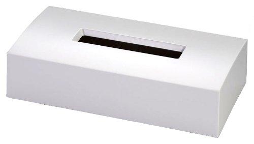 国際化工 monochrome ティッシュボックス アイボリーホワイト M806IW