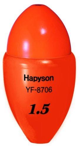 ハピソン(Hapyson) 高輝度中通しウキ 1.5号 YF-8706